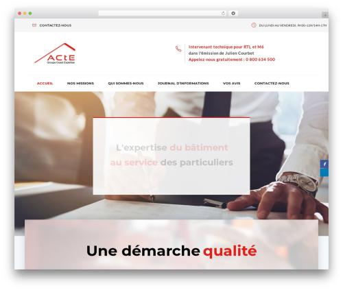 Tanj WordPress theme - ouest-expertise.com