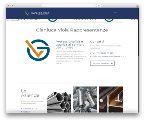 Template WordPress Betheme - gianlucaviola.it