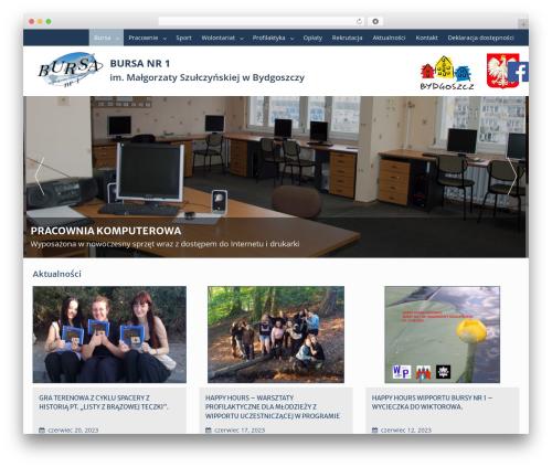 Template WordPress Education Hub - bursa.bydgoszcz.pl
