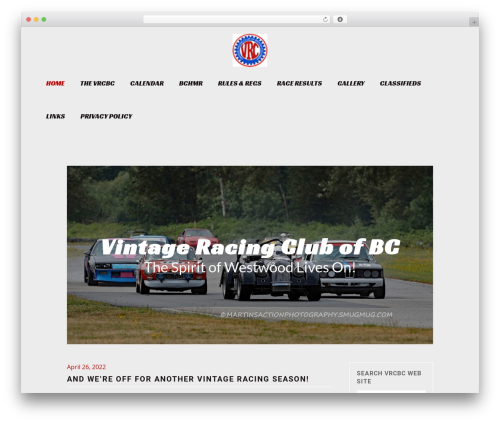 Theme WordPress Bridge - vrcbc.ca