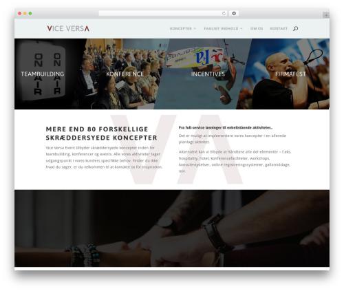 Theme WordPress Divi - vice-versa.dk