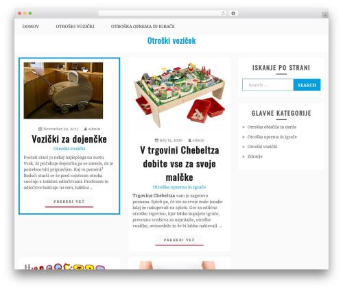 WordPress theme Gist - otroskivozicek.com