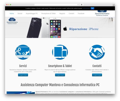 Theme WordPress Customizr - spazioinformatica.it