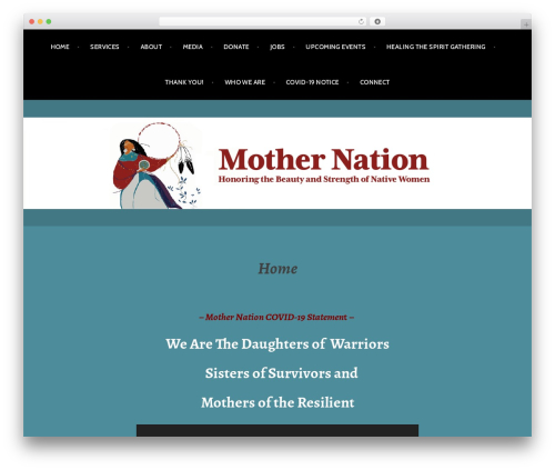 WP template Argent - mothernation.org