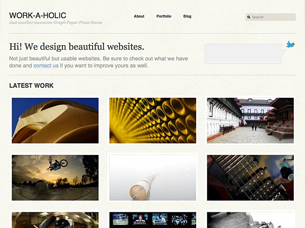 Best WordPress template PhotoJohn