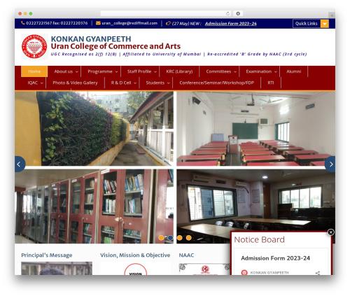 Education Hub WP theme - kguc.org