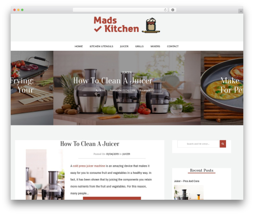 kheera WordPress blog theme - mads-mikkelsen.net