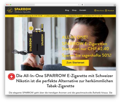 Template WordPress SPARROW - sparrowcig.com