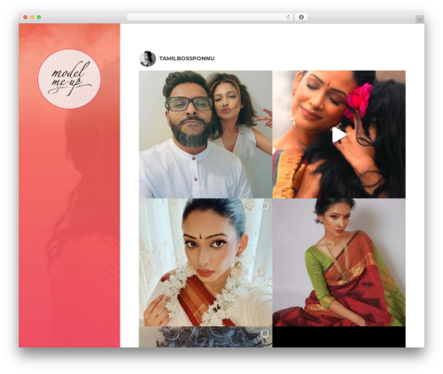Theme WordPress BeautySpot - modelmeup.com