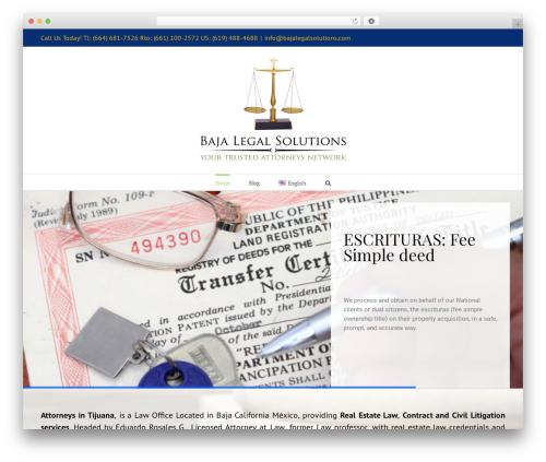 Avada template WordPress - attorneysintijuana.com