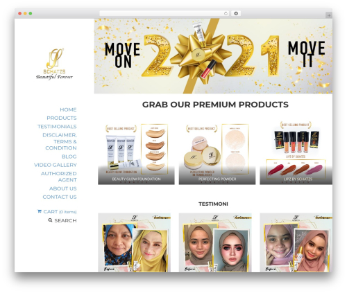 Best WordPress template BeautySpot - Released By Null24.Net - schatzs.biz