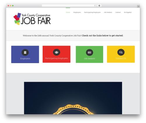 Best WordPress theme Avada - yorkjobfair.org