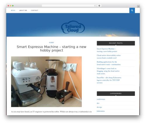 Theme WordPress Bulan - tailored.cloud