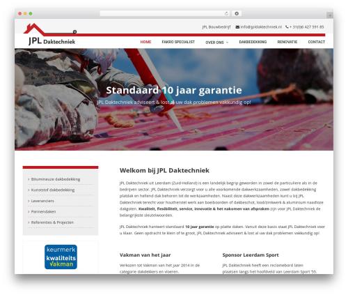 WordPress template Avada - jpldaktechniek.nl