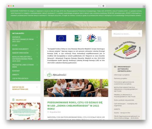 WordPress theme TownPress - ziemiachelmonskiego.pl