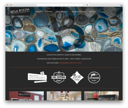 WP Starter WordPress theme - bellarocha.com
