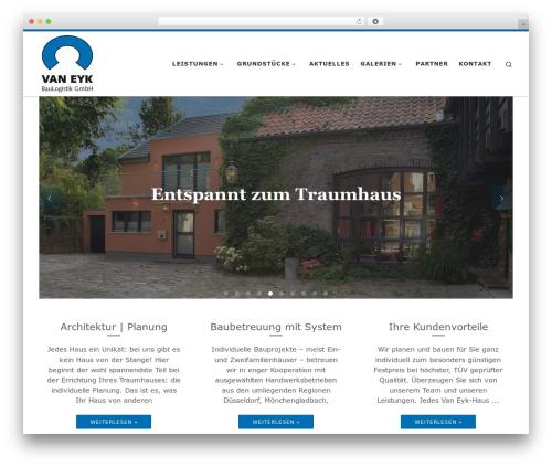 Customizr Pro WordPress theme - vaneyk-bau.de