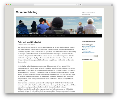 Twenty Ten WordPress template free download - vuxenmobbning.se