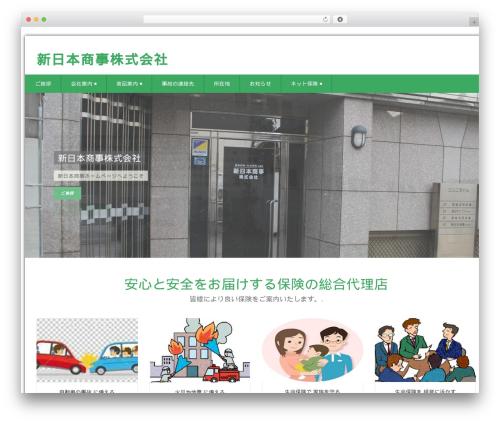 WordPress theme Health-Center-Pro - shin-nichi.net