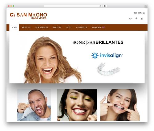 WP template Outreach Pro - clinicasanmagno.com