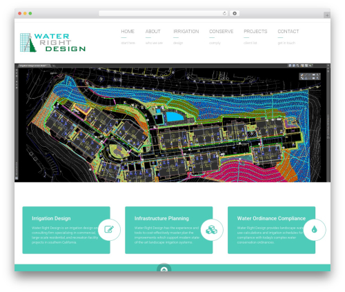 Arkitekt WordPress theme - waterright.design