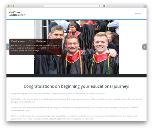 Best WordPress template BusiProf Pro - getyour.education