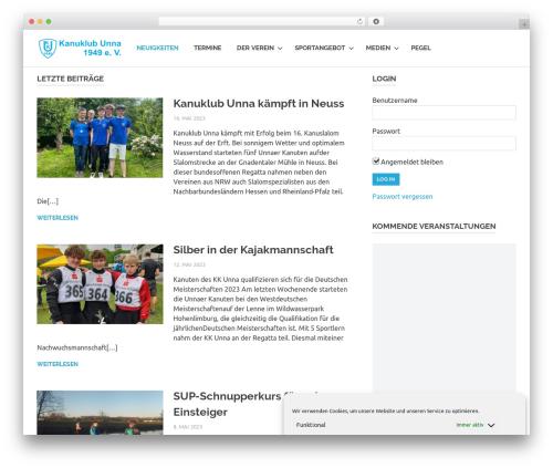 Best WordPress theme Poseidon - kku49.de