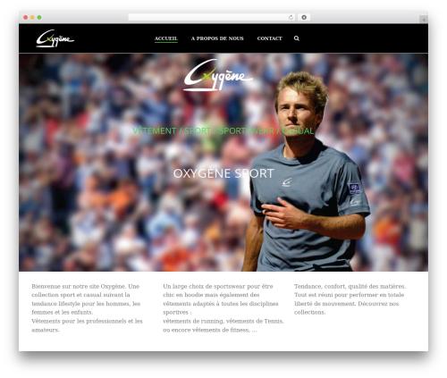 Jupiter WordPress theme - oxygenesport.com