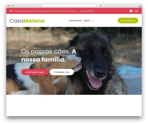 Theme WordPress PetCenter - casamalana.com