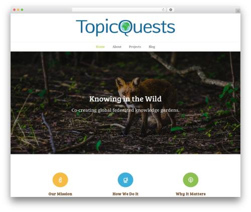 Total best WordPress theme - topicquests.org