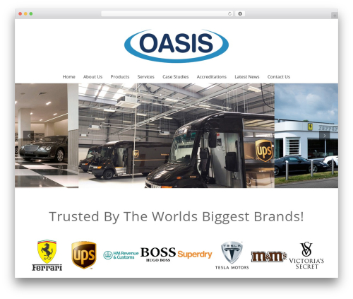 Best WordPress template oasis - oasisaircon.com