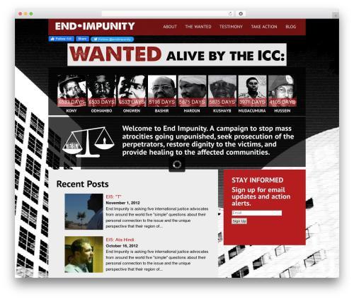 Black Label WordPress ecommerce theme - endimpunity.org