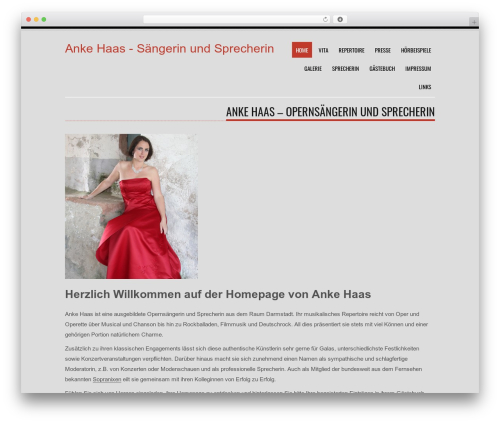 Tesla free WordPress theme - ankehaas.de