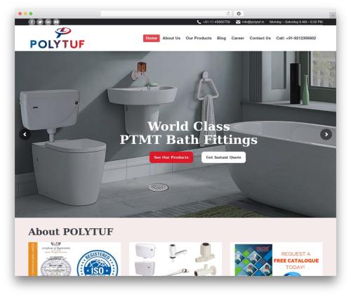 Template WordPress The7 - polytuf.in