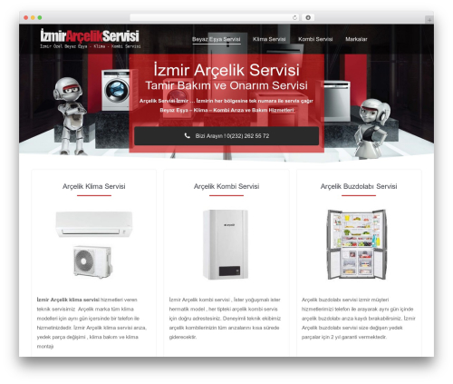 Theme WordPress The7 - izmirbolgeservisi.xyz
