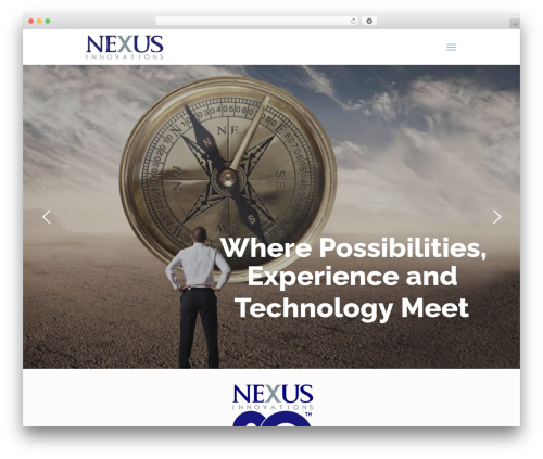 WordPress template Betheme - nexusinnovations.com