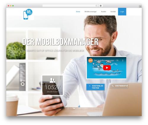 WP theme Betheme - mobilboxmanager.info