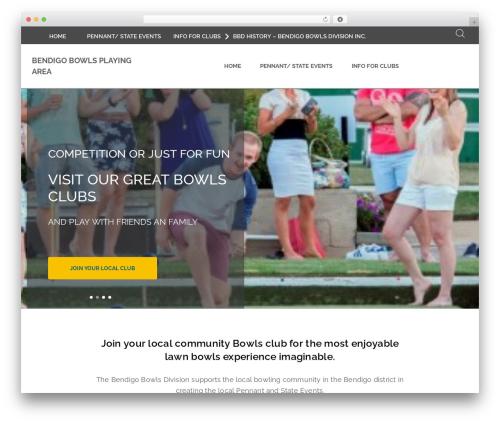 BA Club theme WordPress theme - bendigodivisionbowls.bowls.com.au
