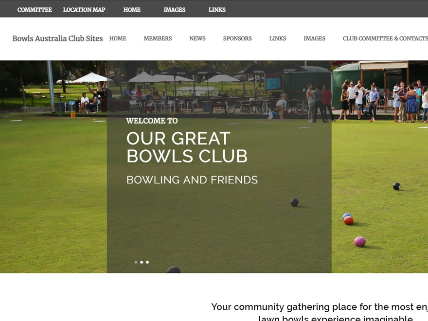 Best WordPress theme BA Club theme