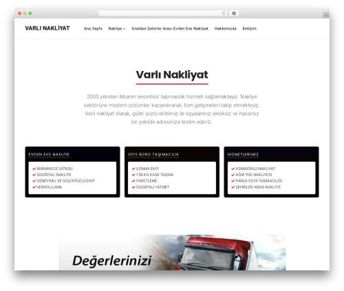 Businessx business WordPress theme - varlinakliyat.net