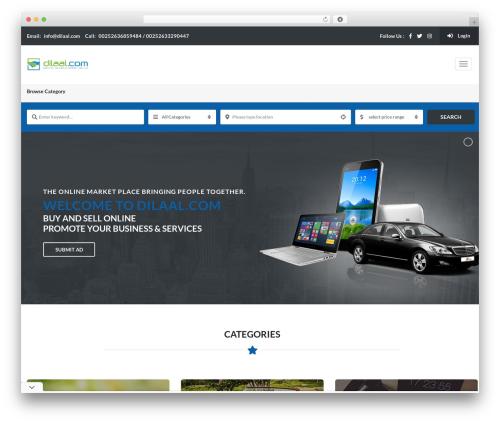 Classiera WordPress theme - dilaal.com