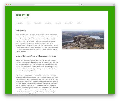 Template WordPress TourbyTor2012 - tourbytor.co.uk