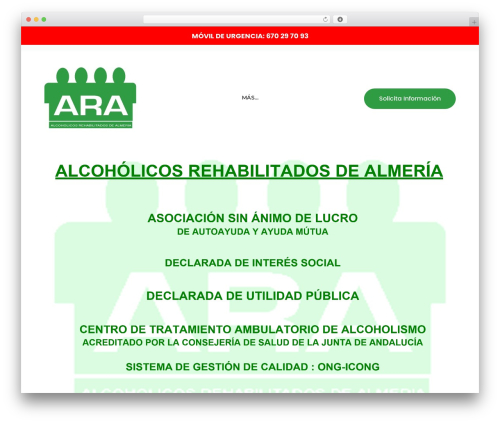 Theme WordPress counselor - ara-almeria.org