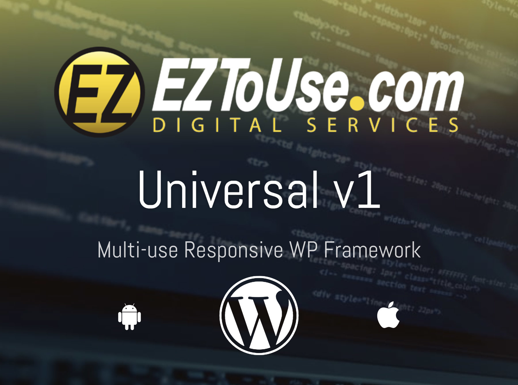 UNIVERSAL v1 WordPress ecommerce template