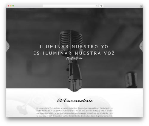 WordPress theme Narcos - conservatorioverri.com.ar
