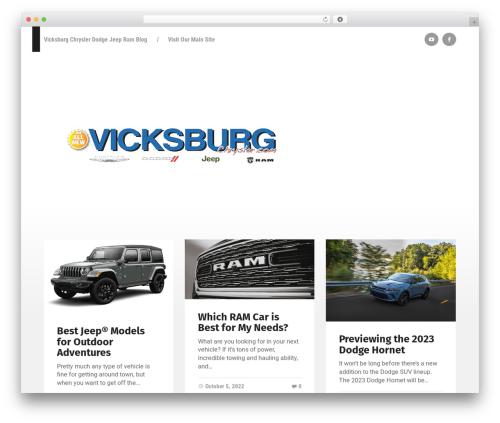 Garfunkel WordPress theme - vicksburgchryslerdodgejeepramblog.com