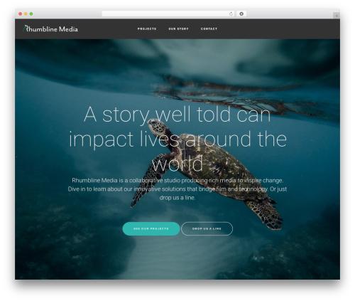 Genesis best WordPress template - rhumblinemedia.com