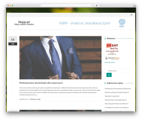 IsleMag WordPress page template - nspp.pl