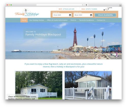 WordPress theme Dynamik-Gen - familyholidaysblackpool.co.uk