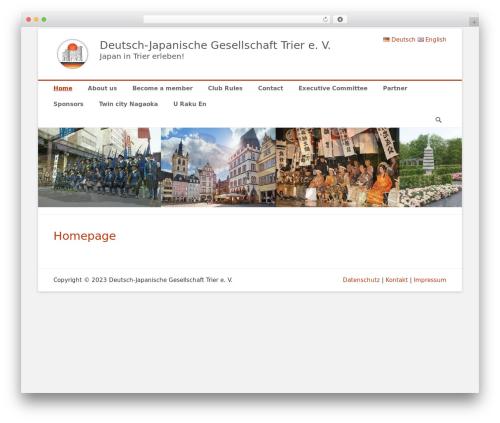 Catch Base Pro WordPress template - djg-trier.de